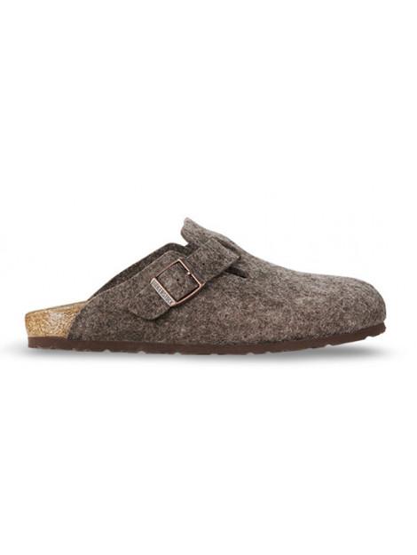 Birkenstock Boston cocoa wool regular 160581 large
