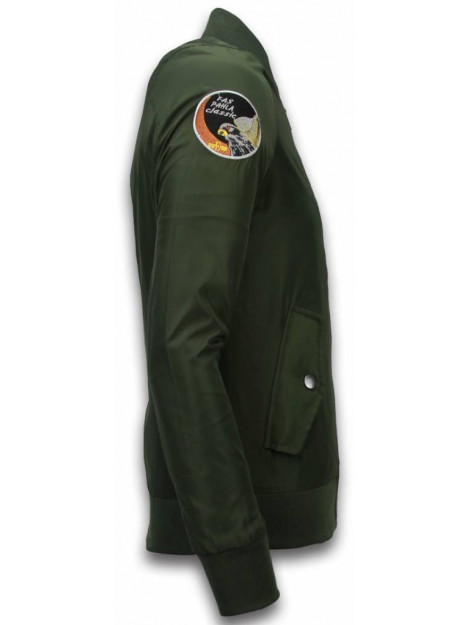 David Copper Bomberjack airborne patches N8802G large