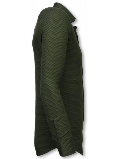 Tony Backer E overhemden slim fit 2051G large