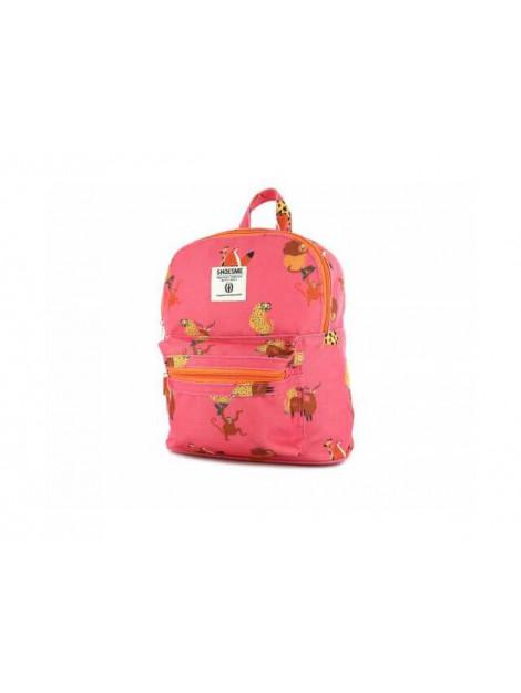 Shoesme Rugzak dierenprint roze BAG9A039-A large