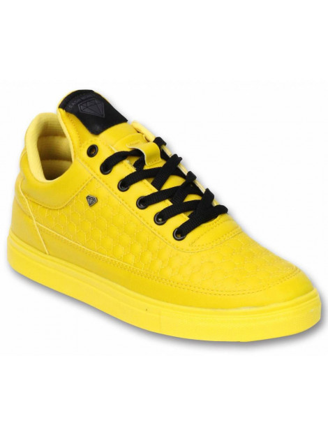 Cash Money Schoenen sneaker low beehive yellow CMS11-SAP large