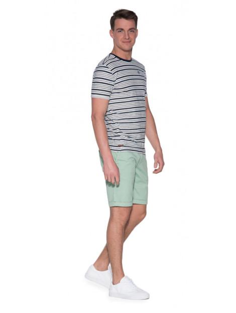 Cast Iron T-shirt met korte mouwen wit CTSS182328 large