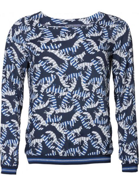 Geisha Top blue combi blauw 93691-20-000625 large