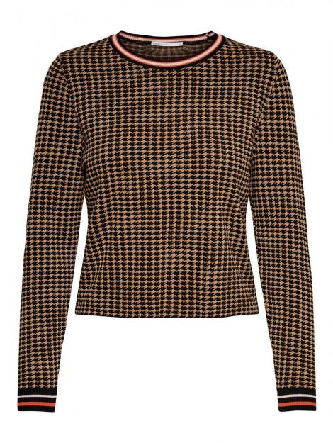Only Zandrax l/s pullover zwart 15189927-177911001 large