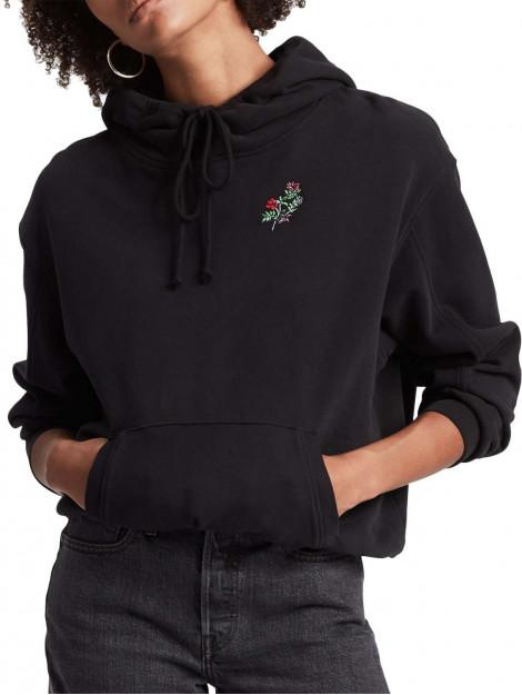 Levi's Unbasic hoodie corporate logo zwart 74318-0026 large