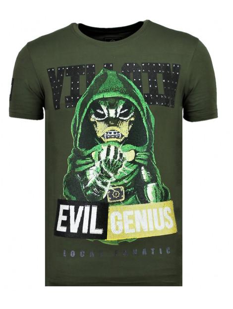Local Fanatic Villain duck fun t-shirt 11-6325G large