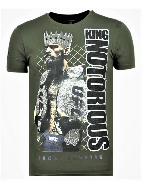 Local Fanatic King notorious zomer t-shirt 11-6324G large