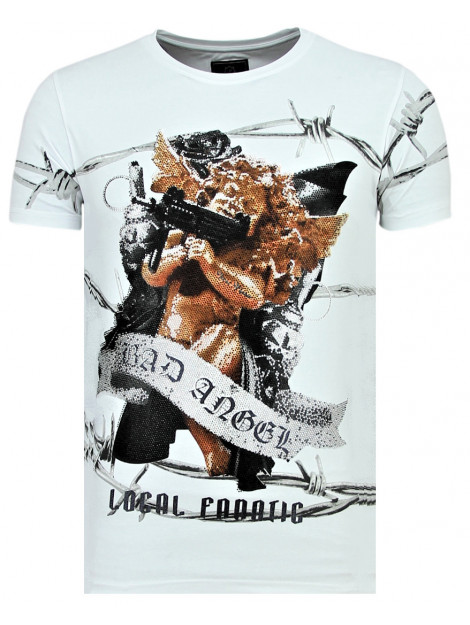 Local Fanatic Bad angel coole t-shirt 11-6318W large