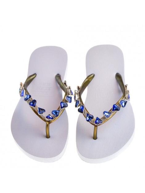 Uzurii Dames slippers wit  large