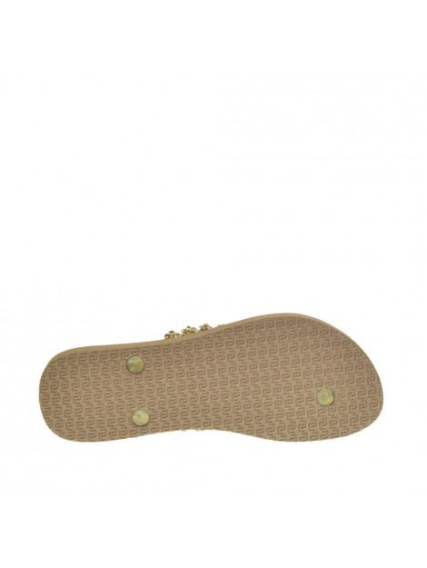 Uzurii Dames slippers taupe beige  large