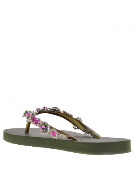 Uzurii Dames slippers groen  large