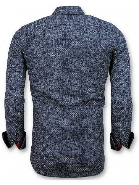 Tony Backer Slim fit grundge texture 3024 large