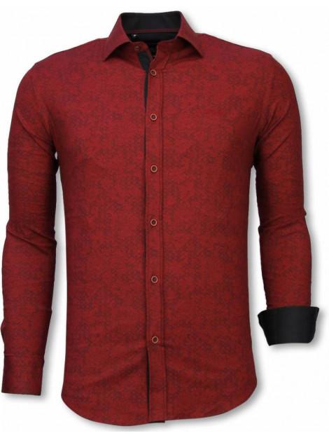 Tony Backer E overhemden slim fit 2049B large