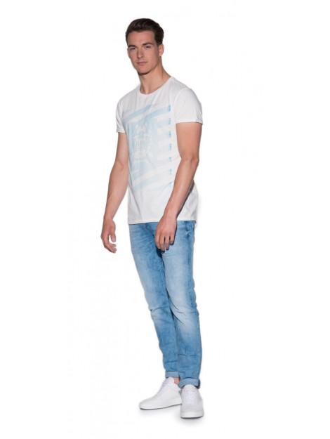 Scotch & Soda T-shirt met korte mouwen antraciet 137757 large