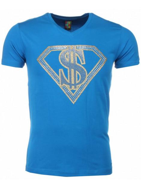 Local Fanatic T-shirt superman dollar print 1418B large
