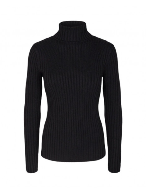 MOSS COPENHAGEN Erica slim roll neck zwart 8401.02.0101 large