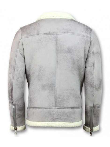 Tony Backer Imitatie bontjas lammy coat QQ551-3 large