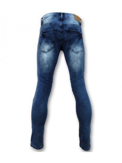 True Rise Biker jeans met rits slim fit ZS-1061 large