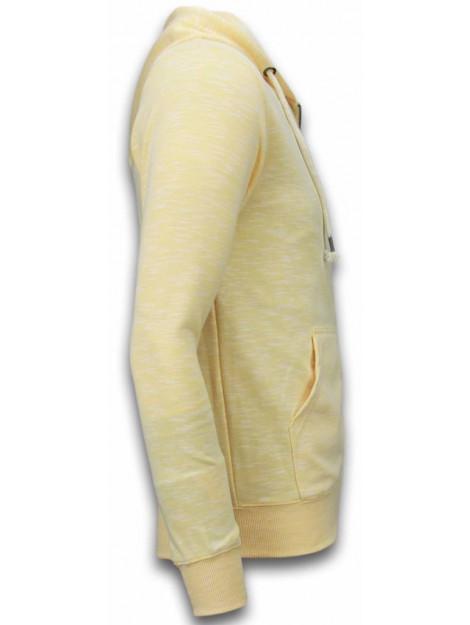 Enos Casual vest melange zen fleece FF-505GL large