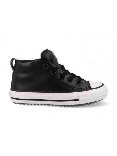 Converse All stars chuck taylor street boot 666007c / wit zwart 666007C large