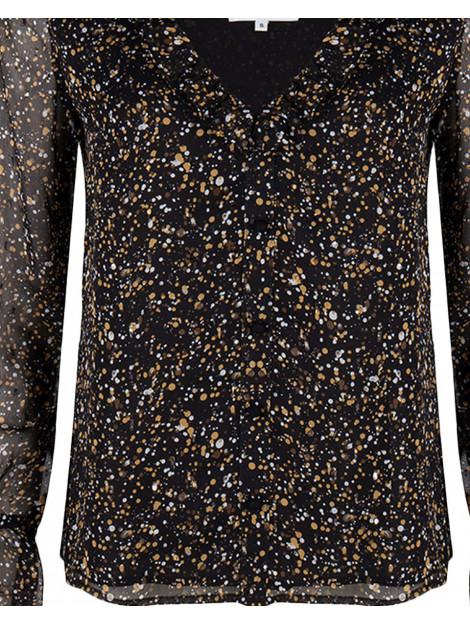 Blake Seven Blouse 1052 blouse lana zwart Blake Seven Blouse 1052 BLOUSE LANA large