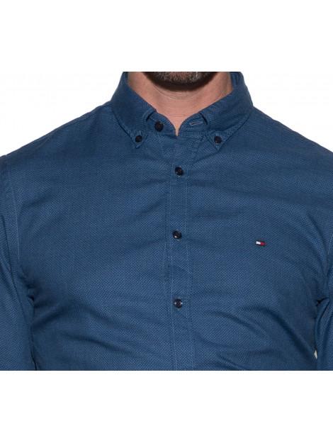 Tommy Hilfiger Casual overhemd met lange mouwen blauw MW0MW03035 large
