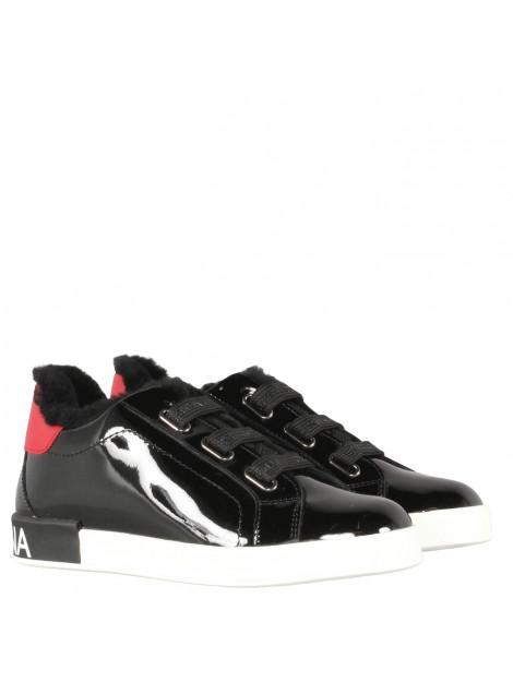 Dolce and Gabbana Kids Sneaker bassa zwart sneaker-bassa large
