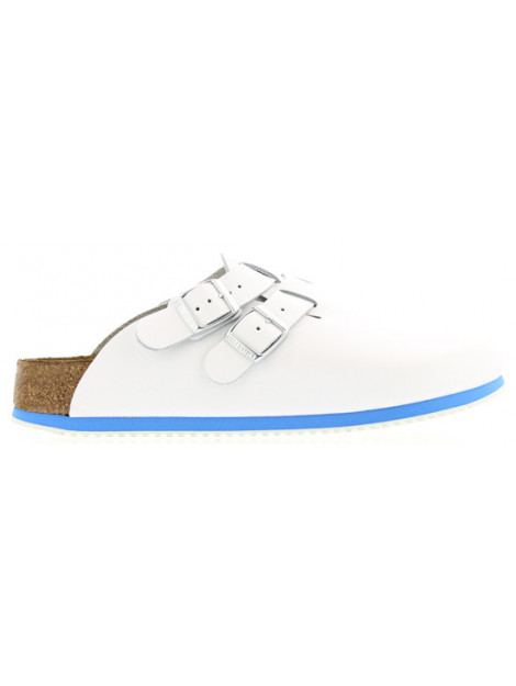 Birkenstock Kay white natural leather regular 582624 large