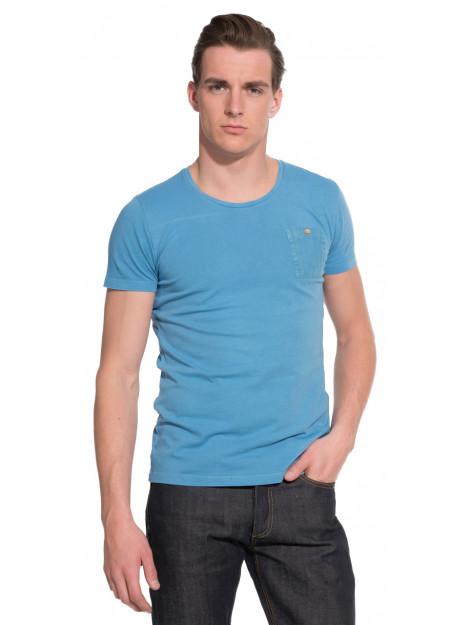 The GoodPeople Goodpeople t-shirt met korte mouwen blauw 15010901 large