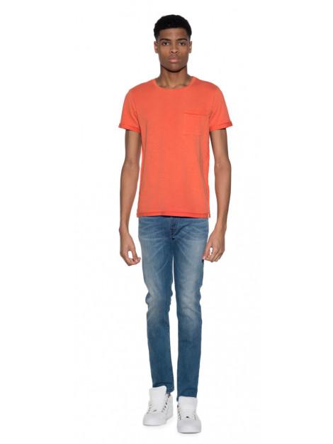 Scotch & Soda T-shirt met korte mouwen oranje 101562 large
