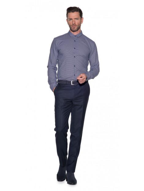 Hugo Overhemd met lange mouwen blauw 50373665 large