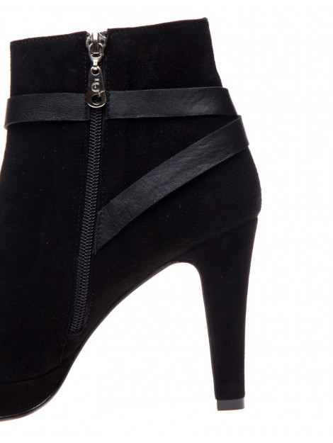 Fab Enkellaars boot strap black suede Fab Boot Strap-Black Suede large