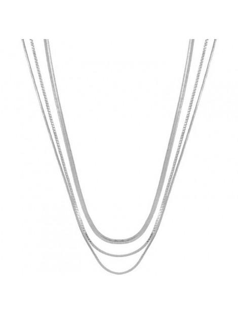 Club Manhattan CLUB MANHATTAN Necklace rebel silver CM/CL/si rebel necklace large