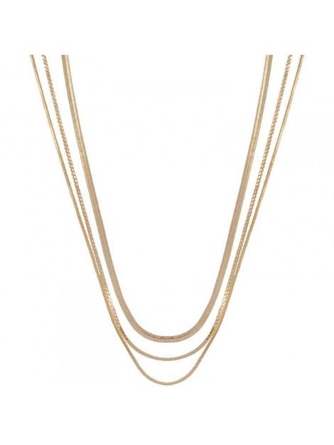 CLUB MANHATTAN Necklace rebel gold goud CM/CL/go rebel necklace large