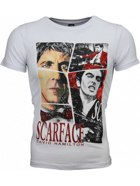 Local Fanatic T-shirt scarface frame print 2008W large