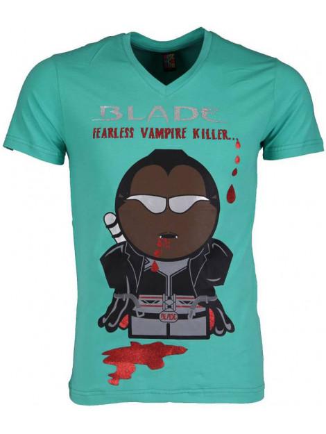 Local Fanatic T-shirt blade fearless vampire killer 54011GR large