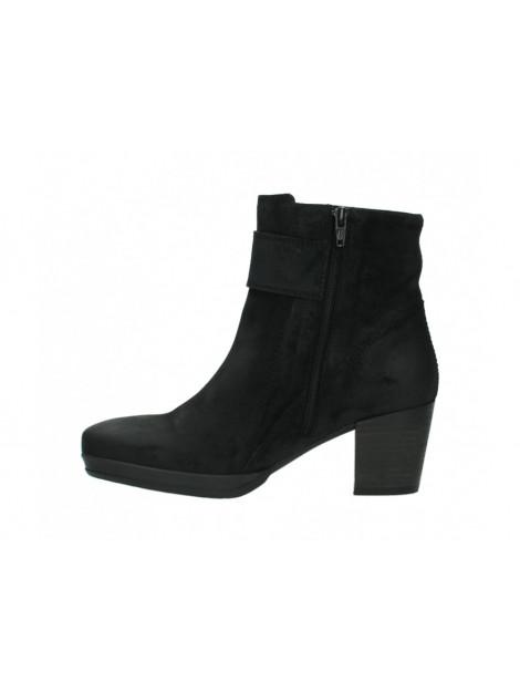 Wolky 08026 Enkellaarzen Zwart To Be Dressed → Black