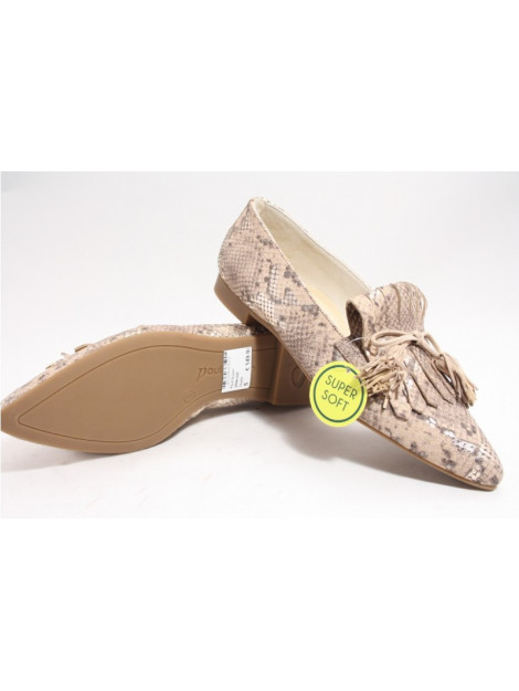 Paul Green 259-006 instappers taupe 2594-006 large