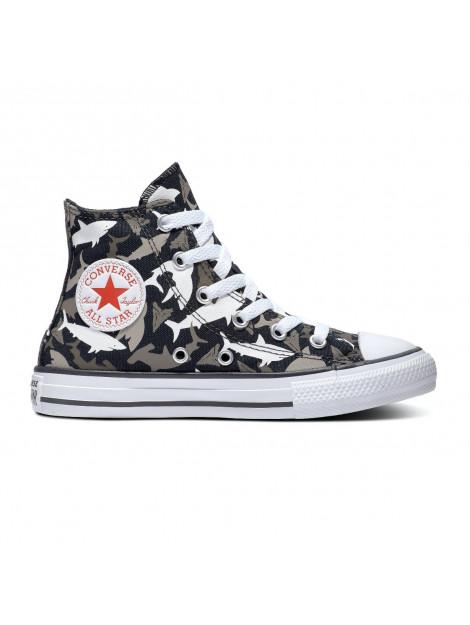 Converse All stars chuck taylor 666888c / grijs / wit zwart 666888C large