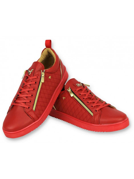 Cash Money Sneakers jailor red gold CMS97 large