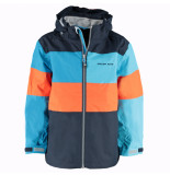 Color Kids Donkerblauwe kinder outdoorjas silas