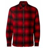 Selected Homme Overhemd shxtwoboban black rood