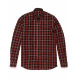 Denham Shirt pocket brushed flannel shirt