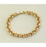 Christian Gouden jasseron armband geel goud