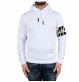 Malelions Hoodie captain wit