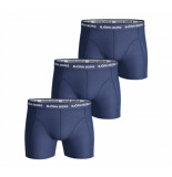 Bjorn Borg 3-pack boxers solids navy blauw