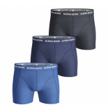 Bjorn Borg 3-pack boxers solids blue mix blauw