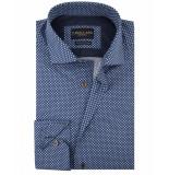 Cavallaro Overhemd sipuntos blauw