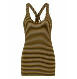 L.O.E.S. 20322 6902 loes willow stripe top darkblue/gold