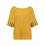 L.O.E.S. 20310 0002 loes nadia shirt gold geel